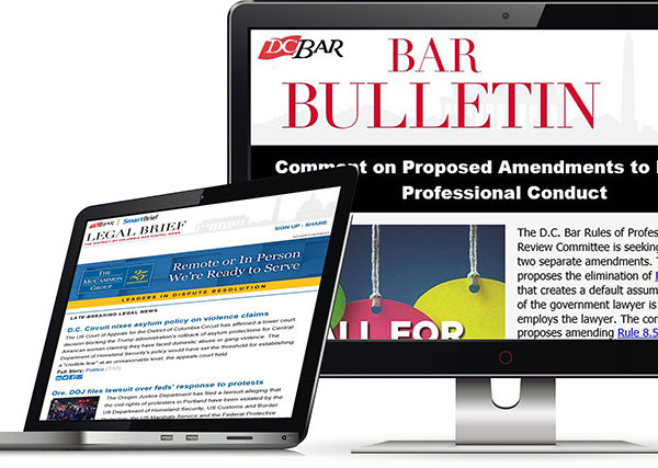 SmartBrief and Bar Bulletin