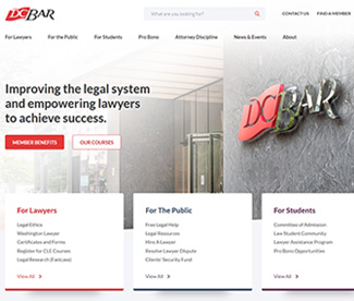 D.C. Bar Website